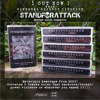 Stand For Attack - Bother about Humanity Flyer Ciptarea Record