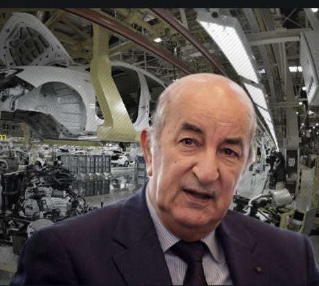 رئيس دولة الجزائر عبد المجيد تبون - سيارات