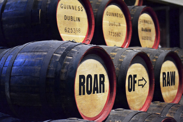 Guinness, storehouse, dublin, brewery, barrels, irish beer