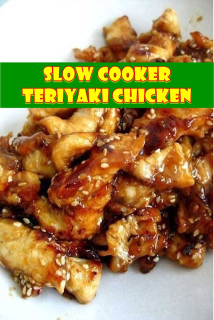#Slow #Cooker #Teriyaki #Chicken