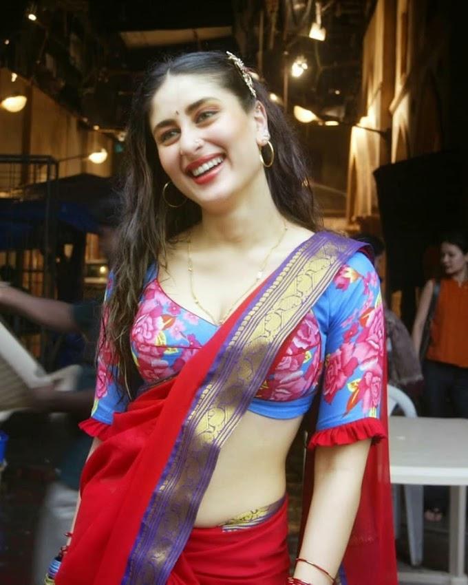 Kareena Kapoor in Beautiful Deep Saree Pic Gorgeous 😍