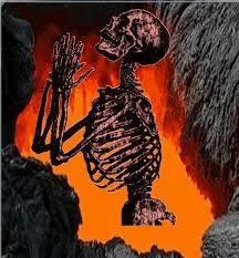 soul in hell