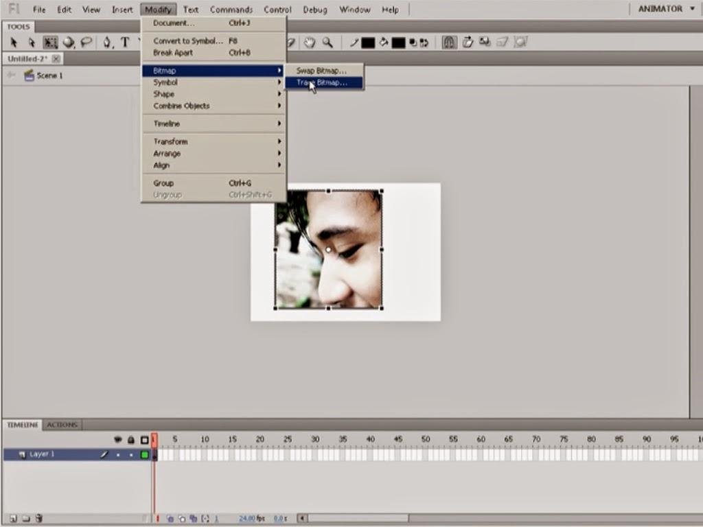 Cara Merubah Ukuran Foto Tanpa Mengurangi Kualitas dengan Adobe Flash - Hog Pictures