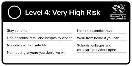 Wales Level 4 Very High Risk Restrictions