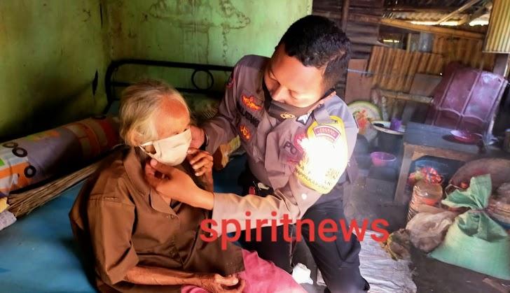 Polri Peduli Covid-19, Bhakti Sosial Kapolsek Marbo di Masyarakat