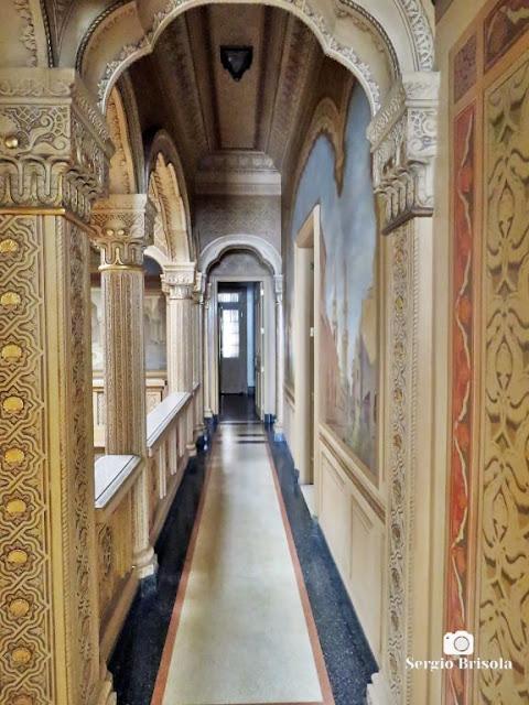 Palacete Rosa - Galeria superior