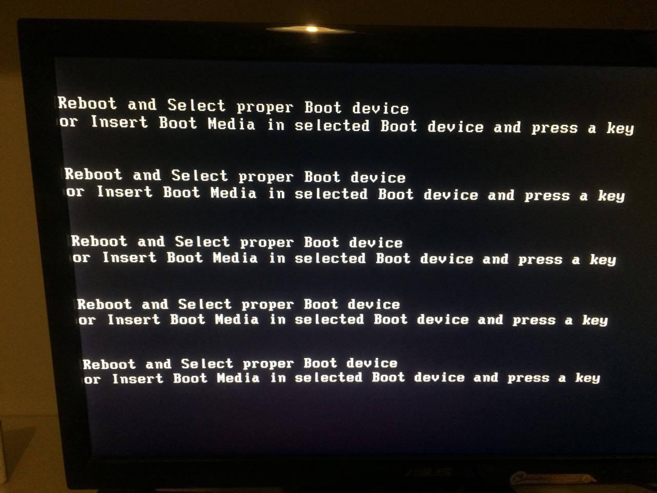 hdd dan dvdrom tidak terbaca di bios (gagal boot) asus S550CB