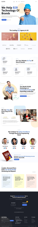 Marketing Agency Elementor Template Kit