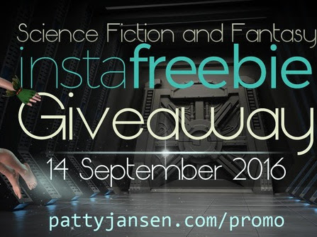 FREE Scifi & Fantasy books on InstaFreebie!