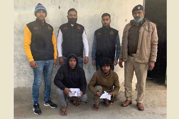 faridabad-crime-branch-sector-85-arrested-2-accused-news