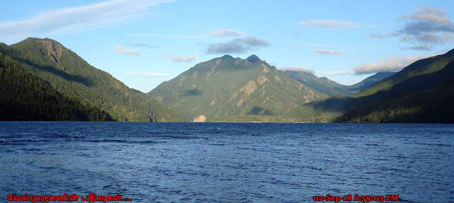 Mount Storm King and Lake Crescent