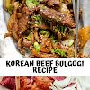 Korean Beef Bulgogi Recipe