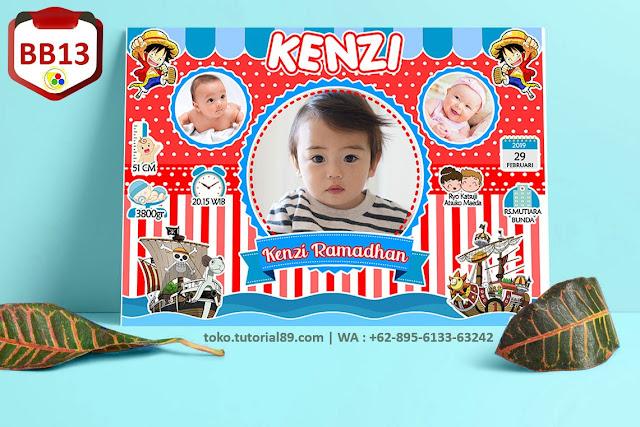 Biodata Bayi Costume Baby Girl Kode BB13 | Bajak Laut