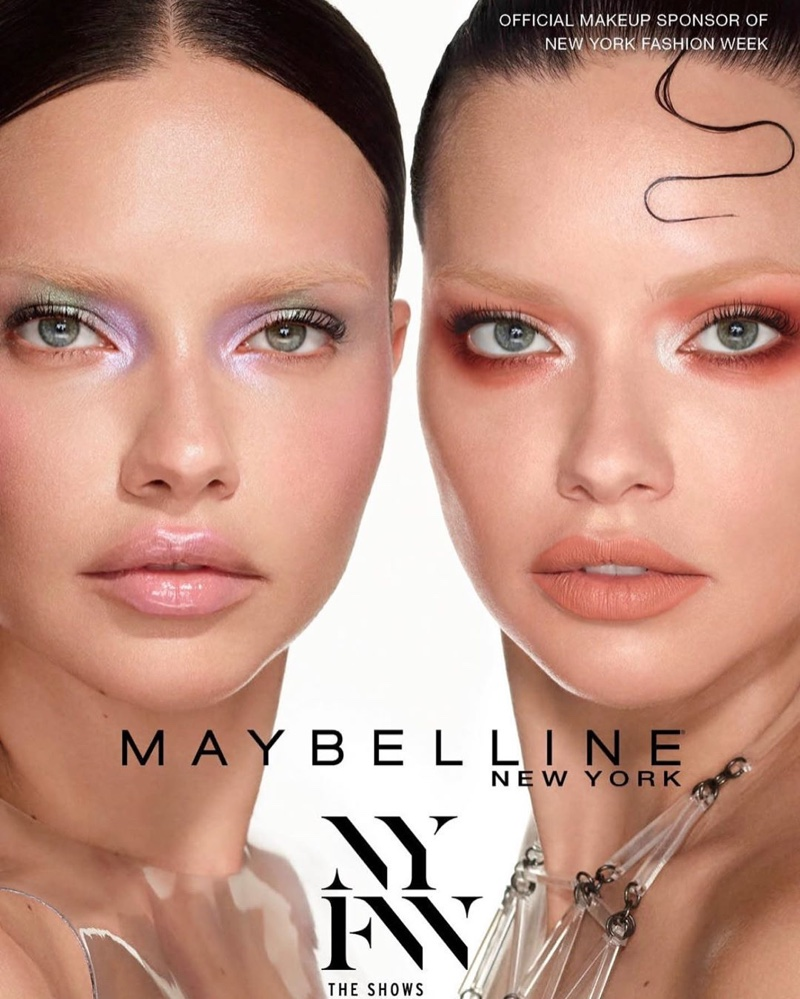 Adriana Lima stars in Maybelline NYFW spring-summer 2020 campaign
