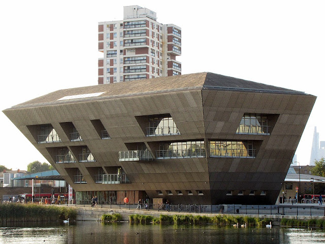 Canada Water Library by CZWG, Surrey Quays Road, Southwark, London