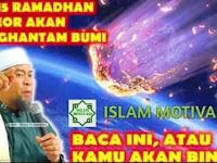 Misteri Pertengahan Ramadhan di Hari Jum'at (8 Mei 2020)