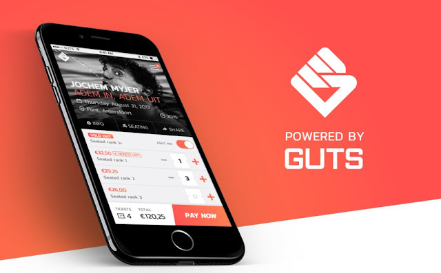 GET powered by GUTS Tickets - Pertukaran Smart Ticket terdesentralisasi