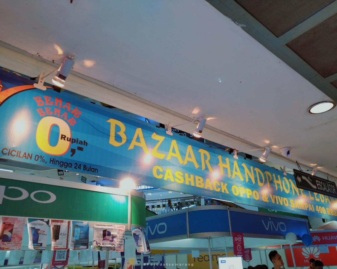 [Photoblog] Bazaar Handphone Lebaran 2019