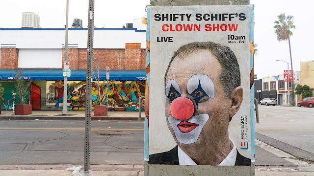 Image result for impeachment clown show""