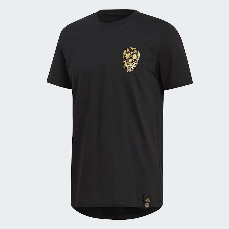 Gold Headlines Adidas - Shirt Black Released Mexico Graphic Stunning Footy|100 Days, 100 Years (Day 71)