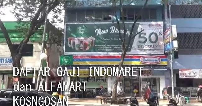 Daftar Gaji Karyawan IndoMaret & AlfaMart Terbaru Semua ...