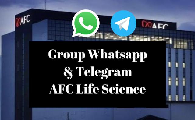 group whatsapp afc lifescience