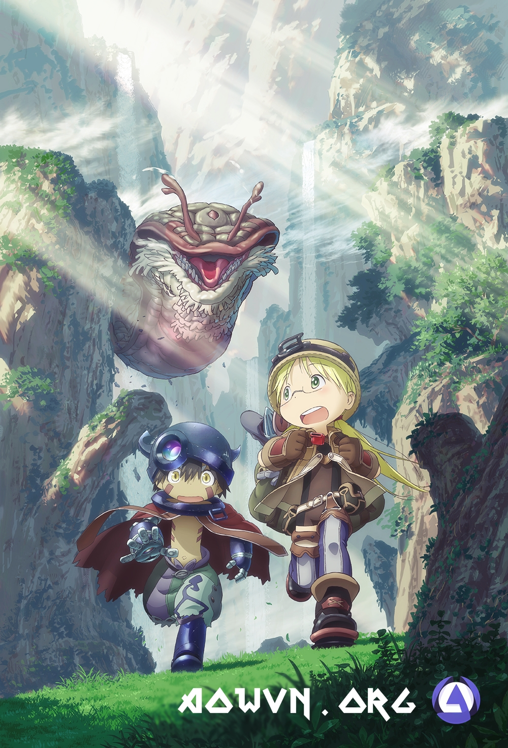 AowVN%2B%25282%2529 - [ Anime 3gp Mp4 ] Made in Abyss | Vietsub
