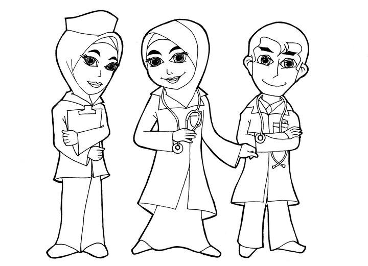Gambar Gambar Kedokteran Ilmu Karikatur Dokter Wanita Rebanas