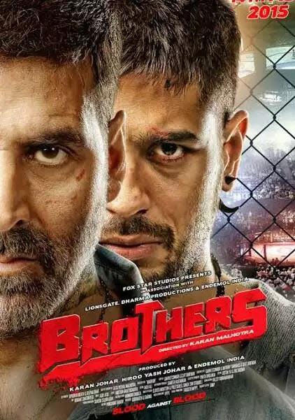 Brothers (2015) Full Movie Bluray 480p 720p