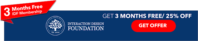 3 Months free Interaction Design Foundation