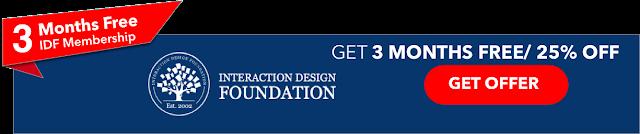 3 Months free Interaction Design Foundation