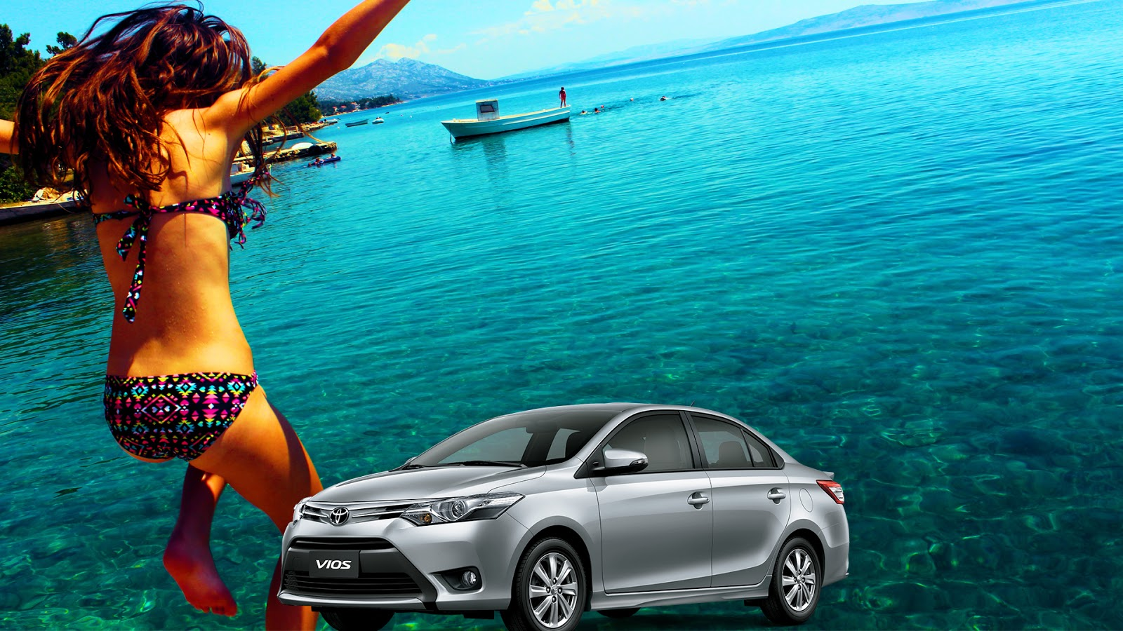 Explore the beauty of the beaches of western visayas philippines when you go on a roadtrip with your toyota vios exciting low downpayment promos for loan