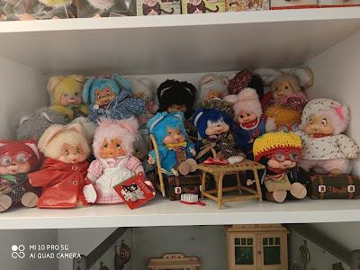 kiki monchhichi vintage collection rare nyamy