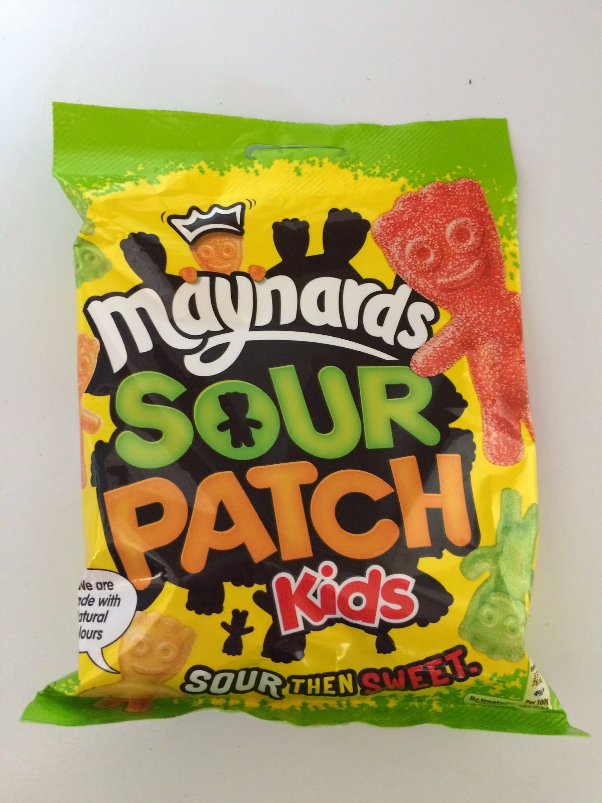 bag of sour patch kids sweets