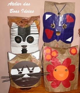 mascaras reciclagem com papel