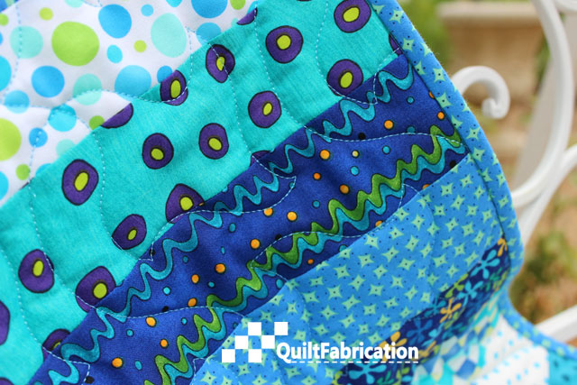 Paperchase panto on Summer Picnic quilt