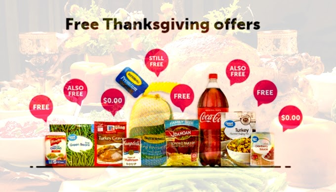 This App Is Giving Users FREE Thanksgiving Dinner From Walmart - Everything From The Turkey, to the Stuffing an Drinks!
