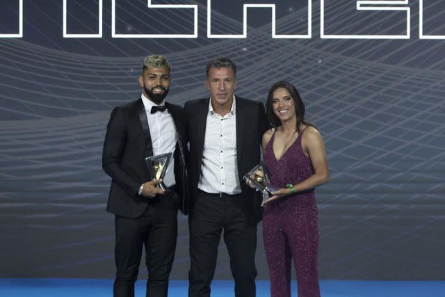 De Rondônia! Millene Karine Fernandes foi eleita craque do Campeonato Brasileiro Feminino com 19 gols na rodada!
