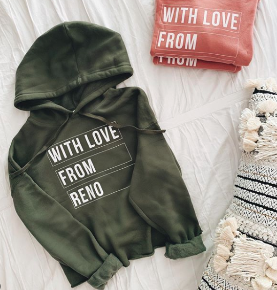 With Love From Reno Sweatshirt