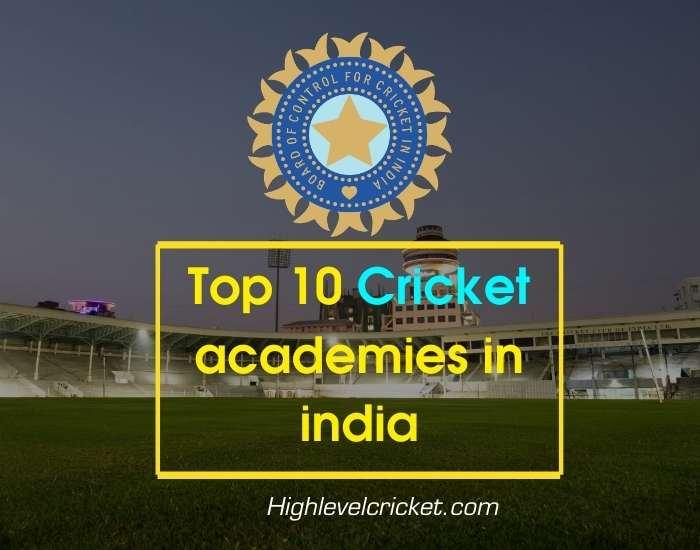 Top 10 Cricket Academy in India   बेस्ट क्रिकेट एकैडमी