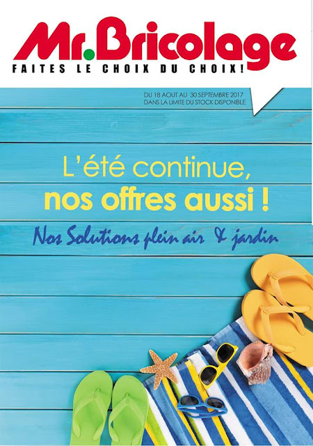 Catalogue mr bricolage aout septembre 2017