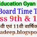 9th - 11th Time Table   : MP Board Class 9 th & 11 th Exam  2021  लोकशिक्षण संचालनालय, मध्य प्रदेश द्वारा स्थानीय कक्षा 9 वी एवं कक्षा 11 वी की वार्षिक परीक्षा 2021 का  परीक्षा कार्यक्रम घोषित, 12 अप्रैल से  होगी  परीक्षा