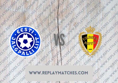 Estonia vs Belgium -Highlights 02 September 2021
