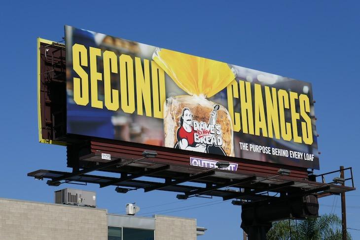Daves Killer Bread Second Chances billboard