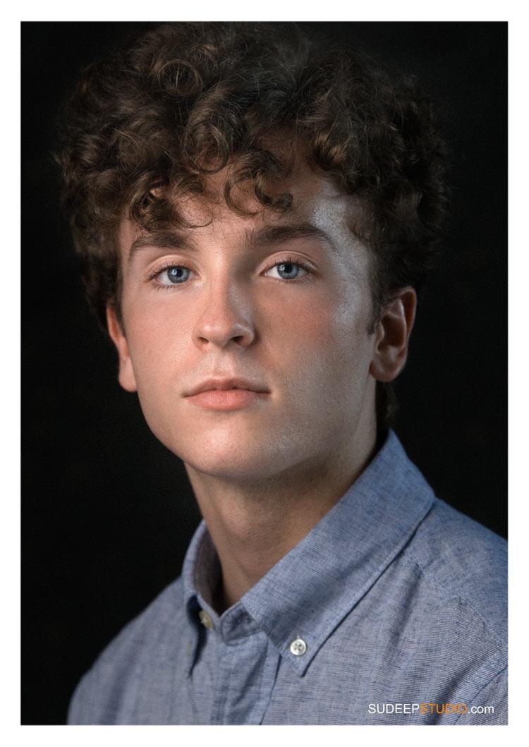 Theater Actor Headshots for Audition Student University by SudeepStudio.com Best Ann Arbor Professional Actor Headshot Photographer