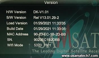 1506g 8MB New Software 2021 - SAMSAT HD 1300 Mini Software