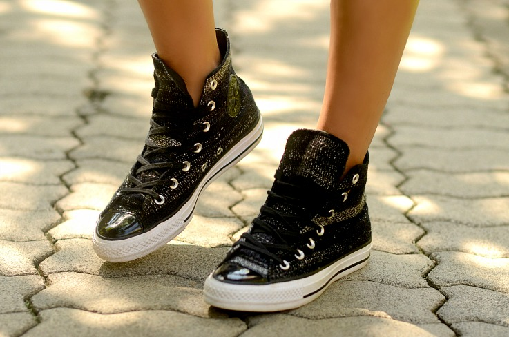 Black and white All stars, Converse, Sneakers