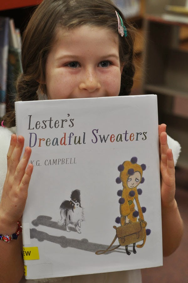 beauty by sw blogspot, Lester's Dreadful Sweaters book