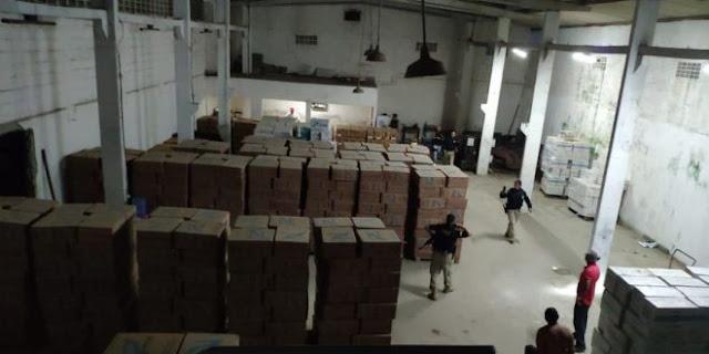 Operação policial na PB apreende maior carga de cigarros contrabandeados do Nordeste