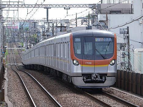 【7000系消滅へ!】東京メトロ17000系のF特急 小手指行き